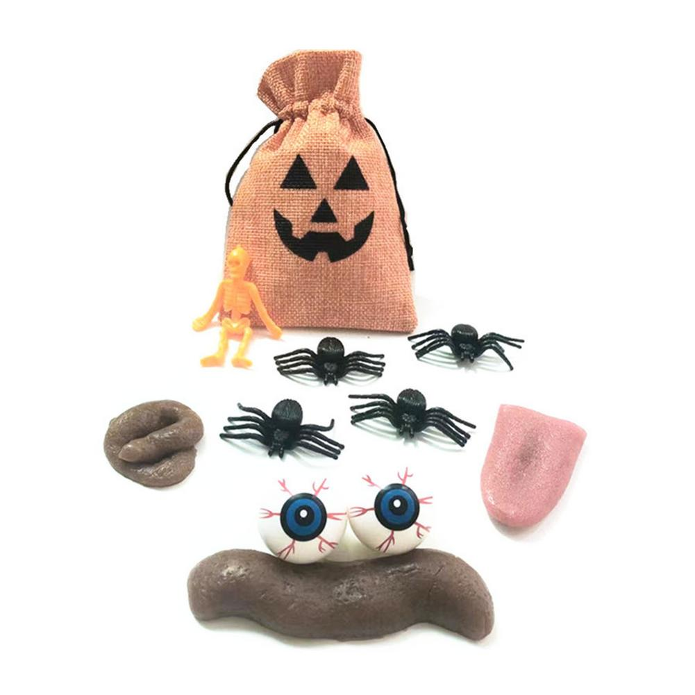 10 шт. практичные забавные приколы Набор шуток для розыгрыша Хэллоуин/апрельский день дурака реалистичные приколы подарок игрушки