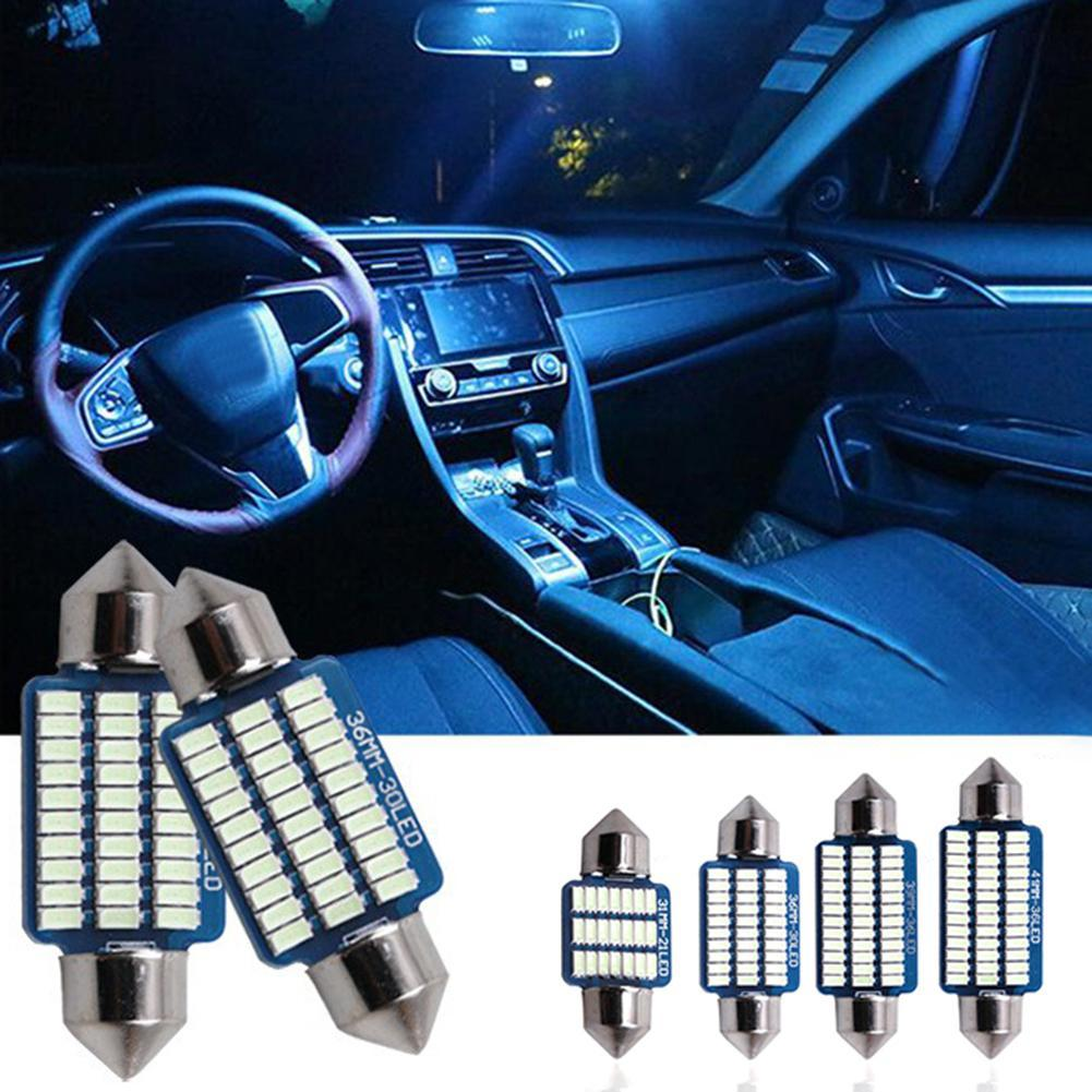 4 шт./компл. T10 Автомобильная фотолампа купольная лампа для салона автомобиля лампа для чтения Автомобильная декоративная лампа для салона s