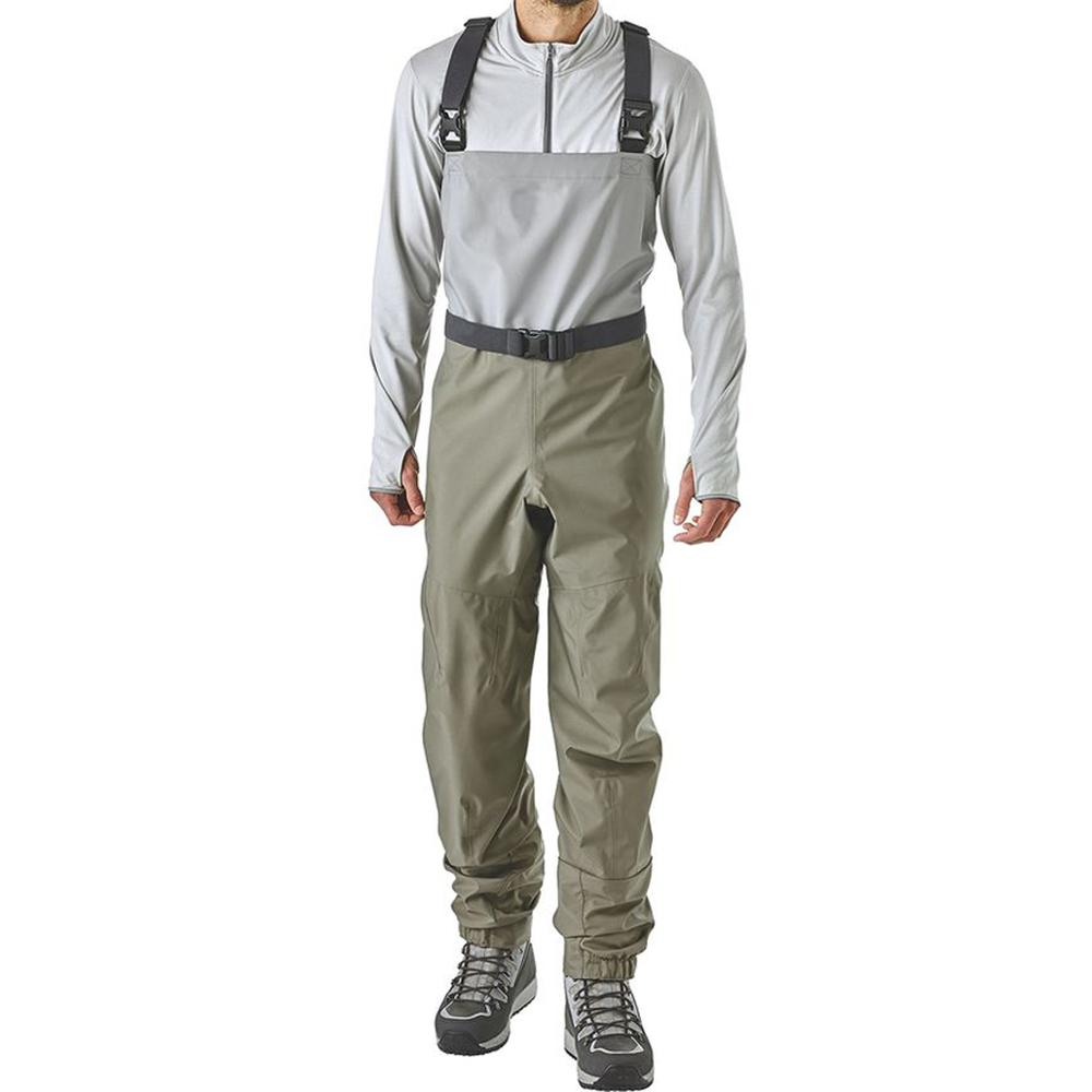 Breathable Fly Fishing & Duck Hunting Waders Waterproof Pants with Stockingfoot Lightweight Chest Water Waders for Men and Women enlarge