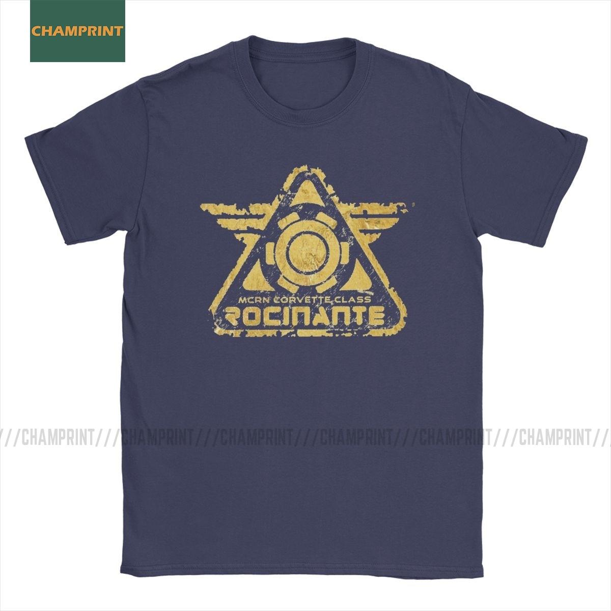 Mcrn Rocinanti The Expanse футболка для мужчин из чистого хлопка футболки Sci-fi ТВ серии Science fiction футболки с коротким рукавом топы