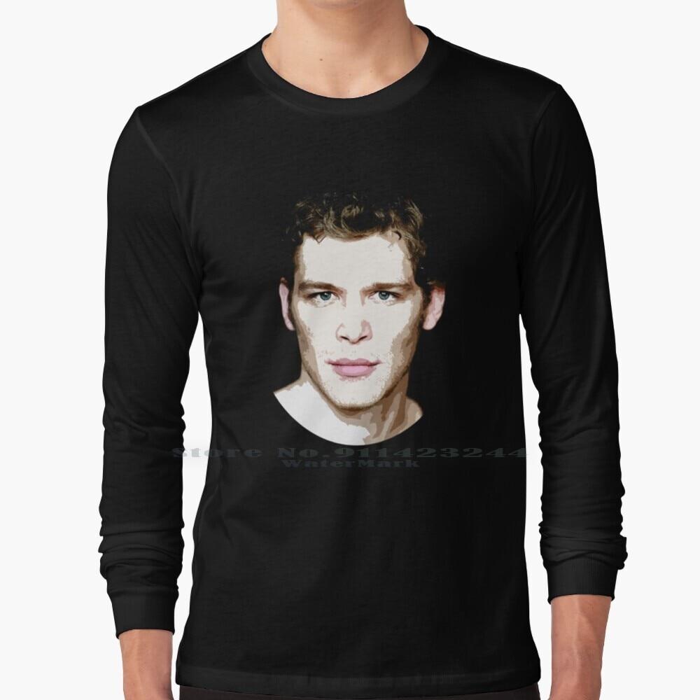 Klaus 2 Long Sleeve T Shirt Tee Klaus Niklaus Mikaelson The Originals Joseph Morgan Nina Dobrev Ian Somerhalder Paul Wesley
