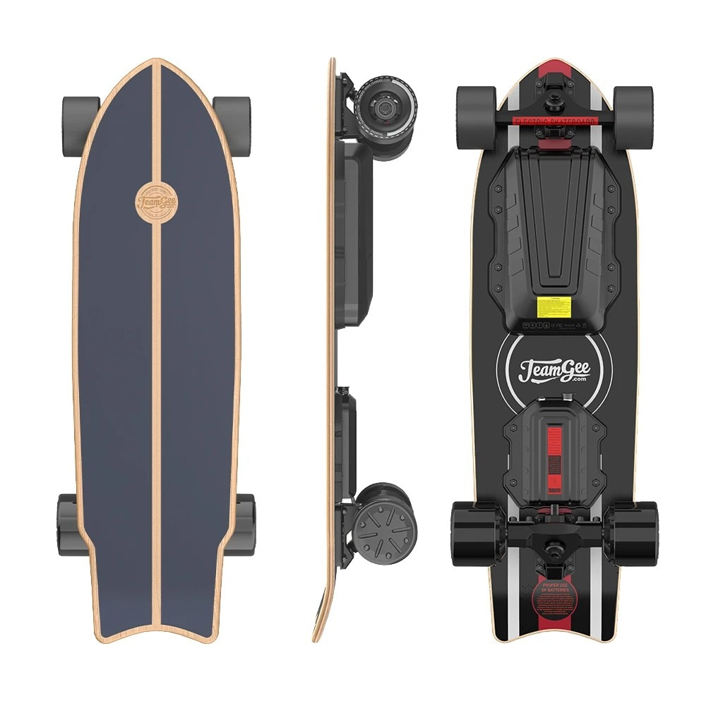 Electric Skateboard Urban Flatbed Scooter Remote Longboard Adult Hoverboard for teamgee H20 MINI with Kicktail