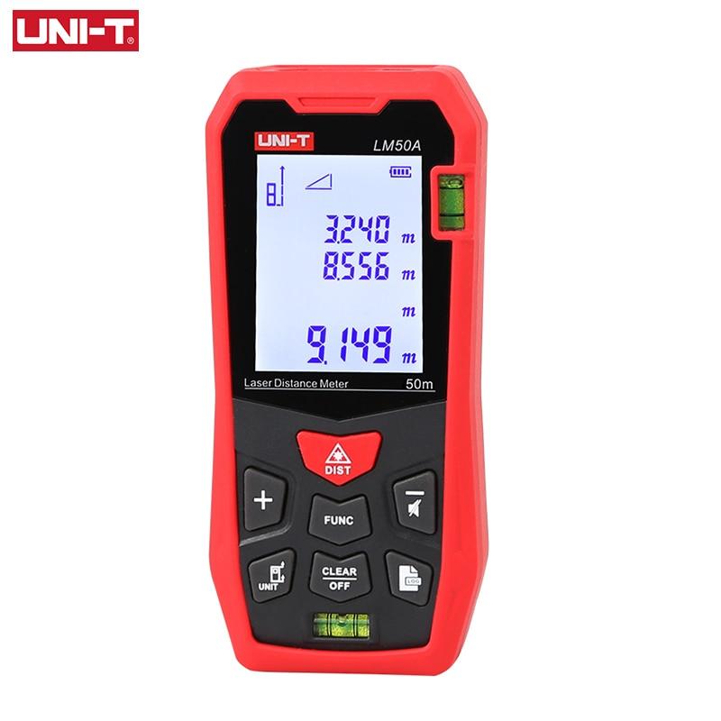 UNI-T الليزر Rangefinder LM50A LM70A LM100A LM120A الرقمية مقياس مسافات الإلكترونية شريط القياس قياس الآلات
