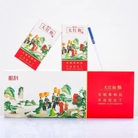 big red pouch well herbal tea cigarette slim fine tobacco to quit smoking clear lung no tobacco no nicotine thick 10 pcs