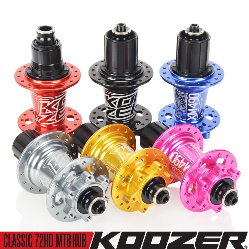 Koozer XM490-buje trasero para bicicleta de montaña 4 rodamientos sellados de 10x135mm...