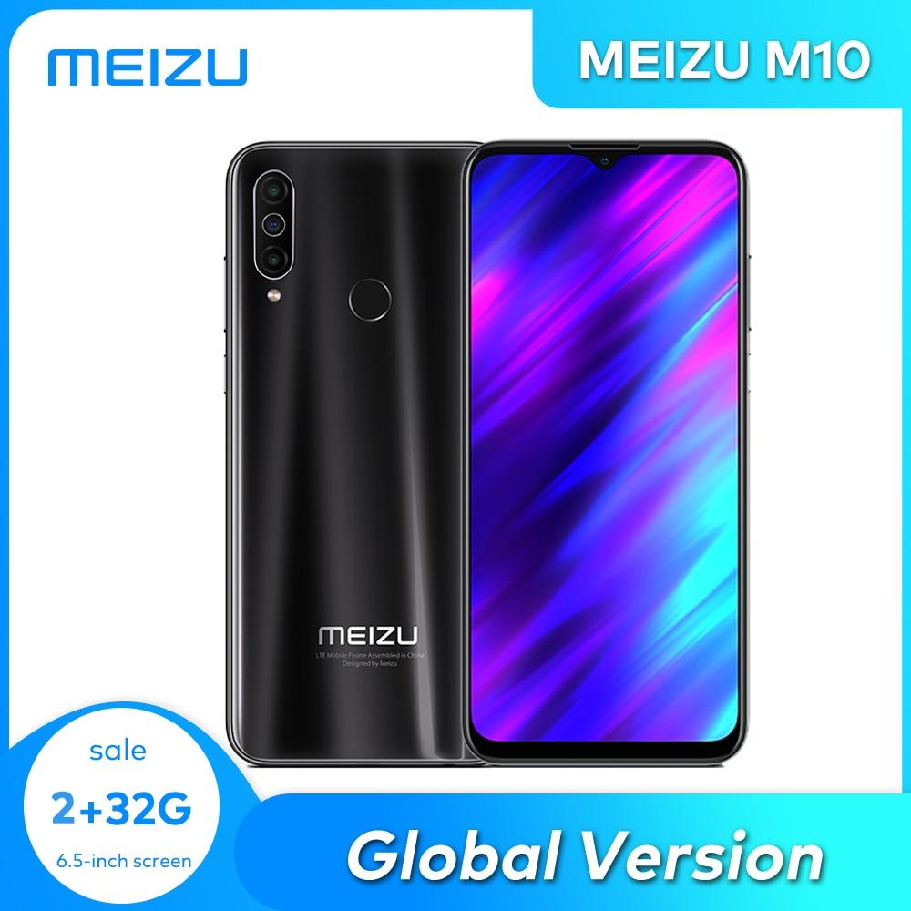 MEIZU M10  Global Version 2GB 3GB 32GB MTK P25 Octa Core Triple Camera Android Phone 4000 mAh Big Battery