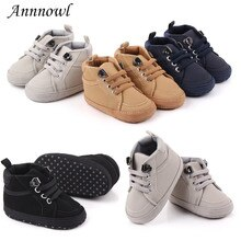 Fashion Brand New Baby Boy Shoes Infant Tenis Newborn Footwear Anti-skip Soft Sole Sneakers First Wa