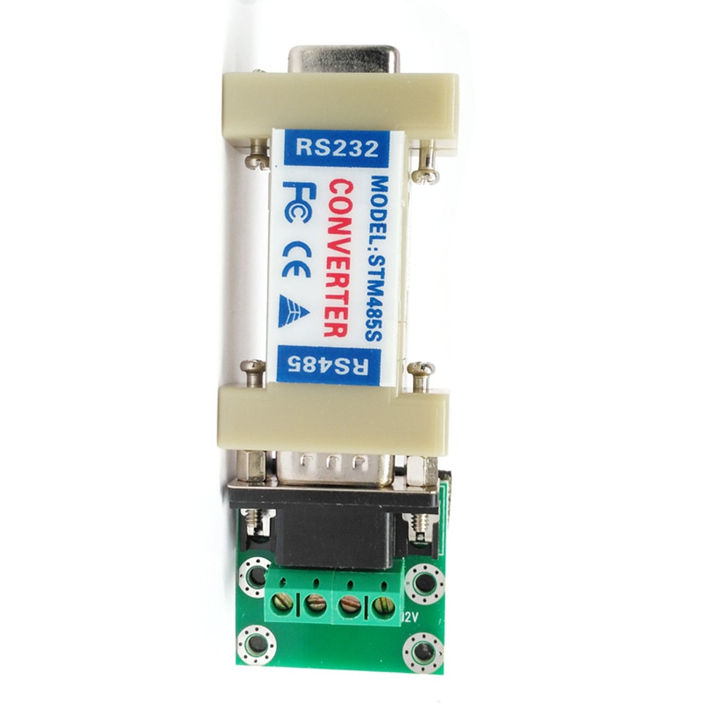 Taidacent 5 PCS Asynchronous Half Duplex Differential Rs485 Db9 Connector Serial to Ethernet Adapter Rs232 Rs485 Converter enlarge