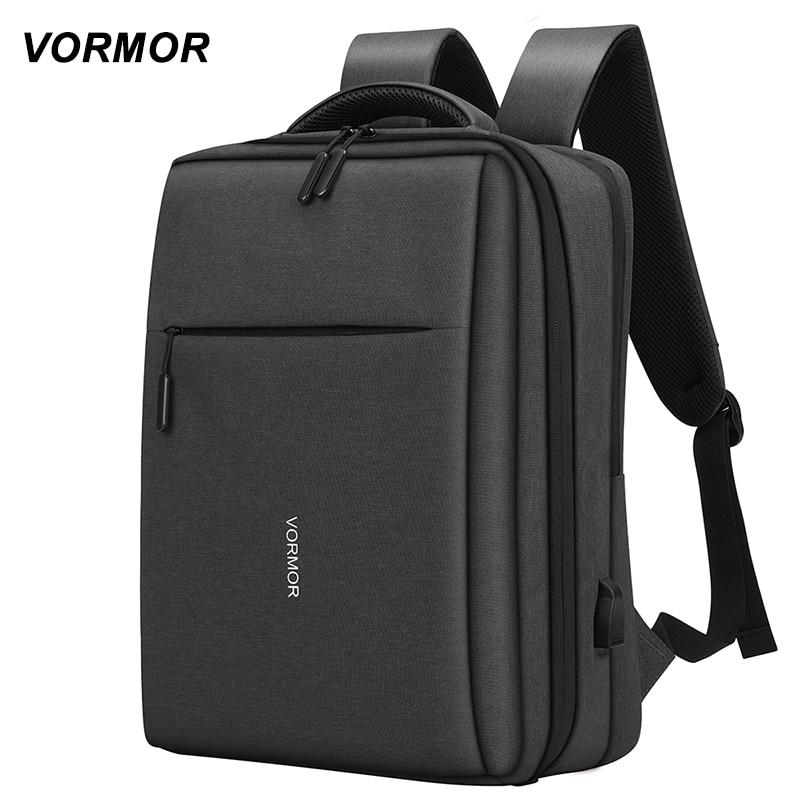 Men's Backpacks Fashion Multifunction USB Charging 14 15 inch Male Laptop Backpacks Anti-theft Schoo
