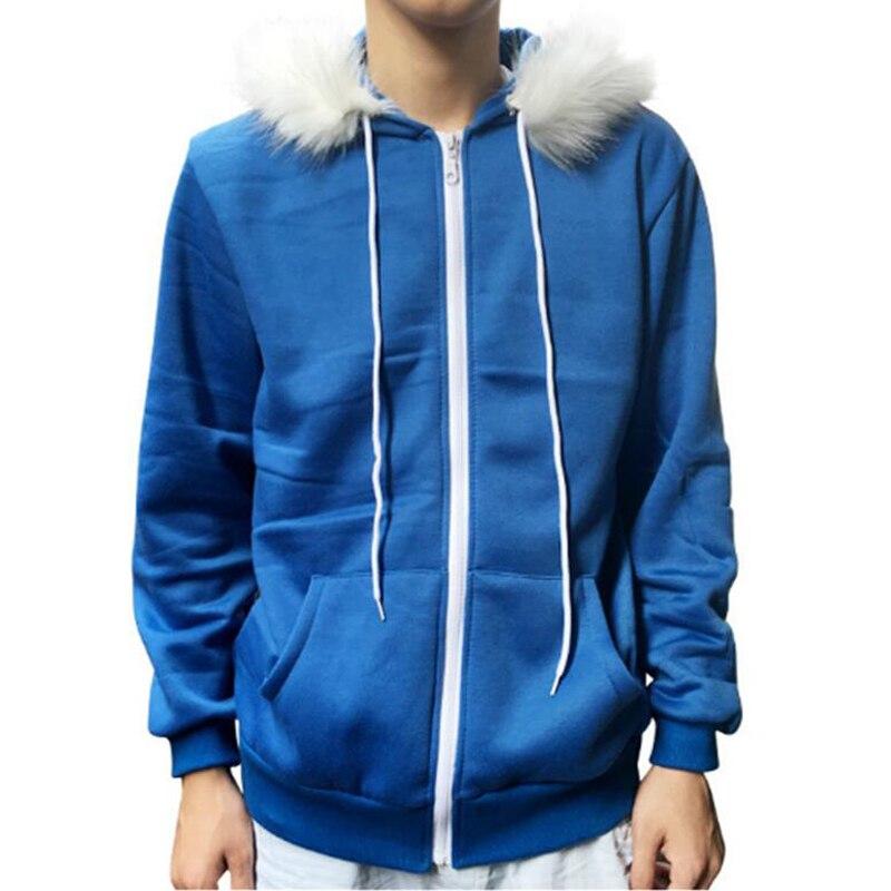 Sans Undertale Hoodies Cosplay máscara de látex fresco Cos chaqueta azul abrigo Cosplay disfraz Halloween Unisex cabeza