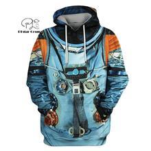 PLstar Cosmos armstrong espace suite astronaute 3d sweats à capuche/sweat hiver automne drôle Harajuku manches longues streetwear