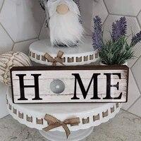 Panneau decoratif de bienvenue  Plaque decorative suspendue en bois  panneau de porte de famille pour maison  decoration de porte de jardin