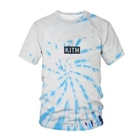 new summer t shirt tie dye 3d printed t shirt boys girls fashion personality spiral colorful t shirt t shirts children clothes