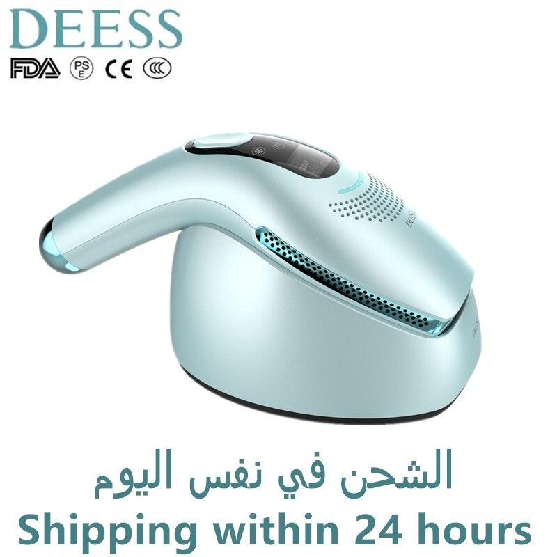 DEESS-GP590 إزالة الشعر الدائم ، ومضات غير محدودة محسنة ، وجهاز إزالة الشعر بالليزر IPL ، وأسرع