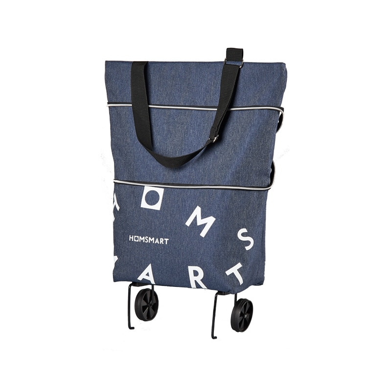 Mtong with wheels large capacity shopping bags for shopping fruits vegetables waterproof Reusable foldable shopping bags