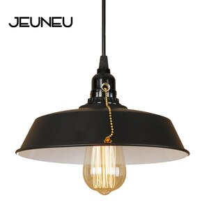 Retro Industrial Novelty Pendant Light LED E27 Loft Iron Hanging Lamp for Dining Room Bedroom Aisle Lobby Restaurant Hotel Study