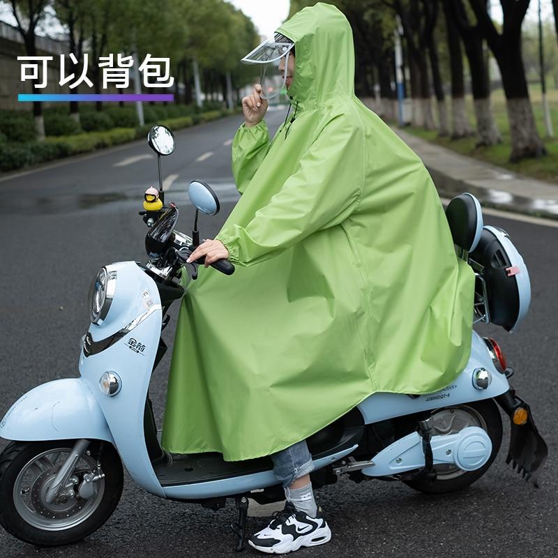 Women Foldable Raincoat Hoodie Outdoor Poncho cloak Raincoat Motorcycle Rain Suit Men Antipioggia Moto Waterproof Poncho AG50YY enlarge