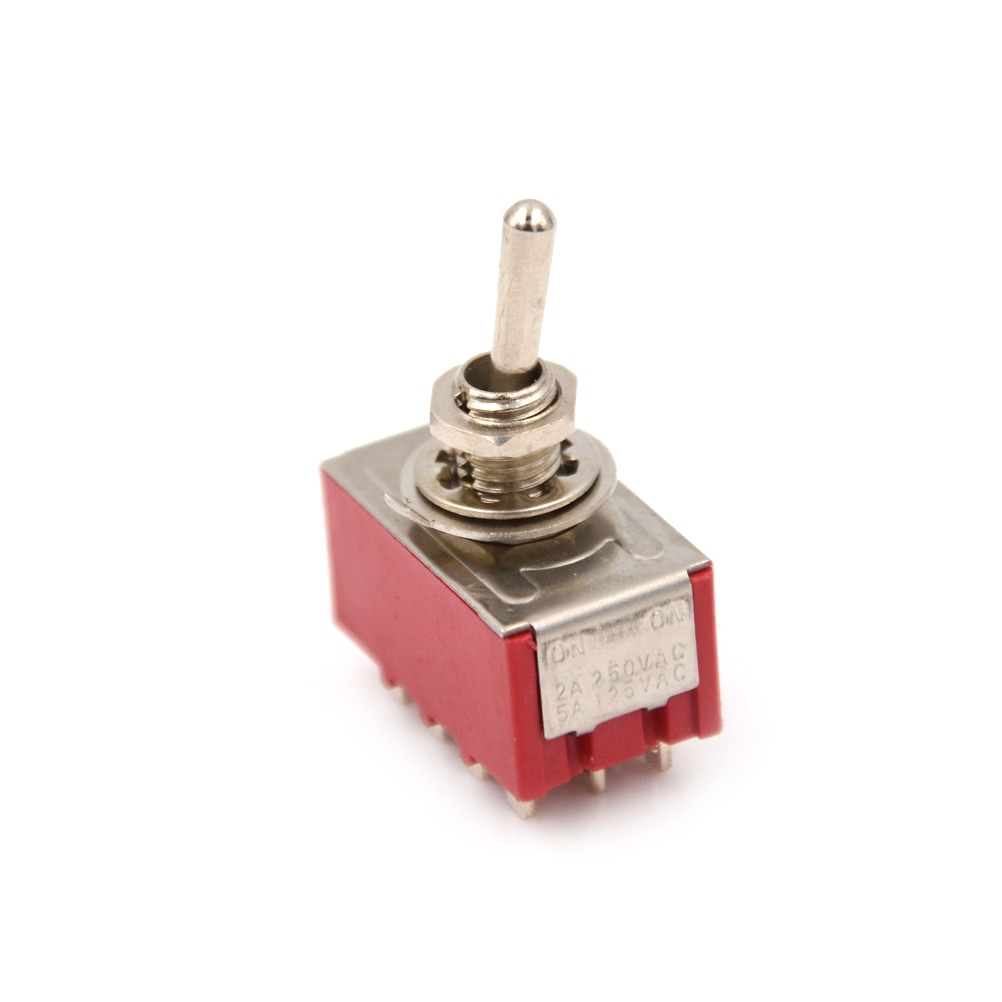 2 posição 12 pino mini MTS-402 interruptor de alavanca 6a/125vac 2a/250vac 4pdt on/on