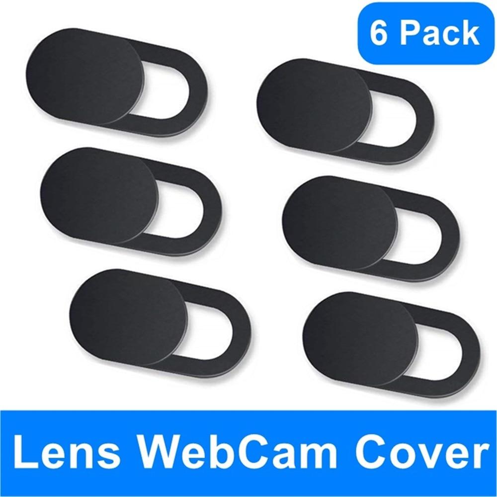 Kerokuru WebCam Cover Shutter Slider Privacy Sticker Universal Antispy Camera Cover For Web Laptop iPad PC Macbook Tablet lenses