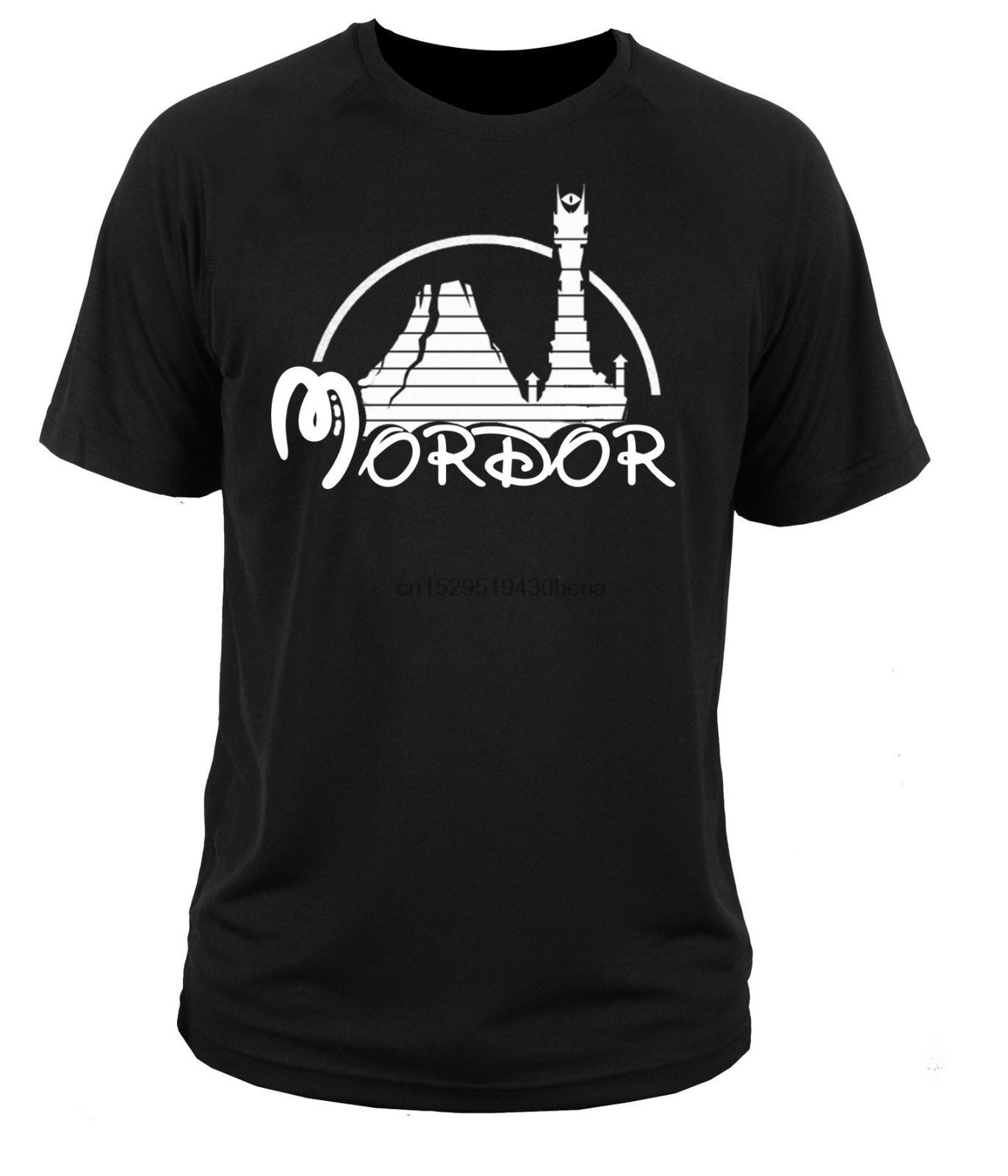 Moda hipster mordor senhores dos anéis tolkien hobbit impressão t camisa