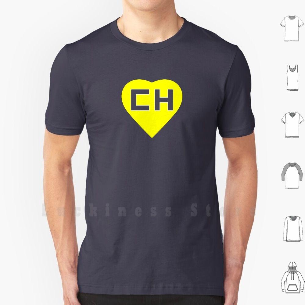 Chapulin-Camiseta de algodón de talla grande 6xl, para manualidades, Chapulin, Colorado, Chavo,...