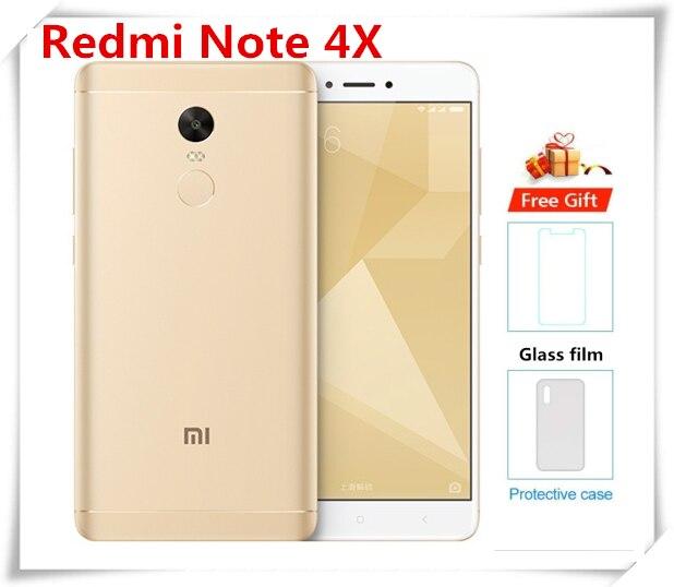 Original Xiaomi Redmi Note 4X Smartphone 3GB RAM 16GB ROM 13MP 5.5