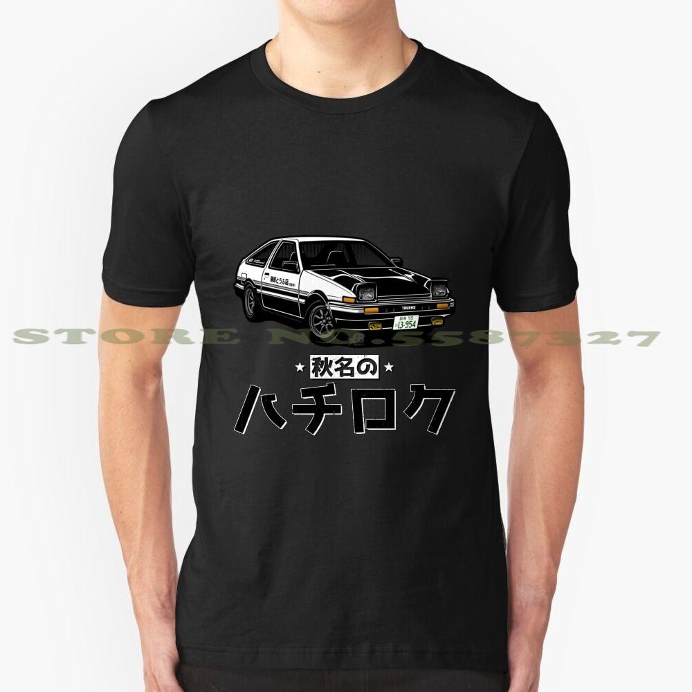 AkinaS Hachi Roku V2 moda Vintage camiseta T camisas Takumi Ae86 Levin Trueno Gt Apex Gt86 Celica Corolla Scion Frs 2Jz 1Jz