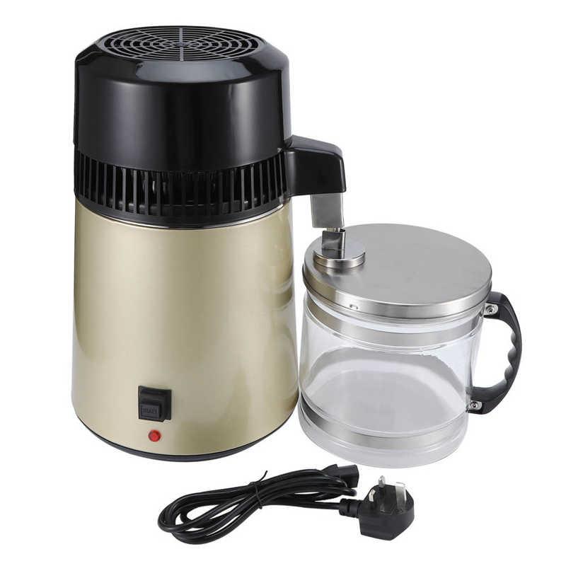 4L UK 220-240 فولت متعددة الوظائف آلة تقطير المياه الفولاذ المقاوم للصدأ آلات التقطير معدات تنقية ملحق
