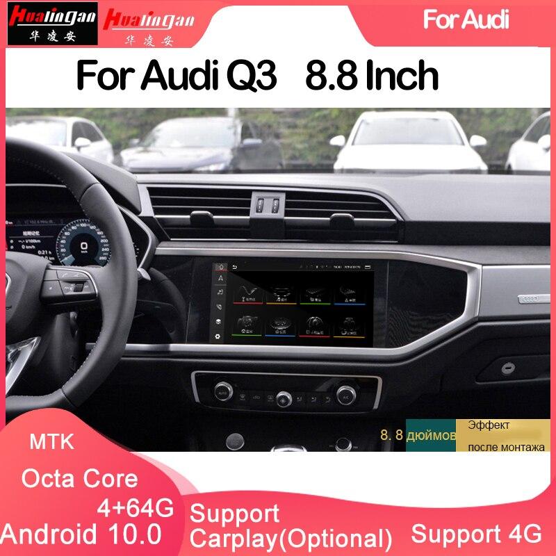 Hualingan-reproductor multimedia con Android para coche, dispositivo con enlace de espejo automático,...