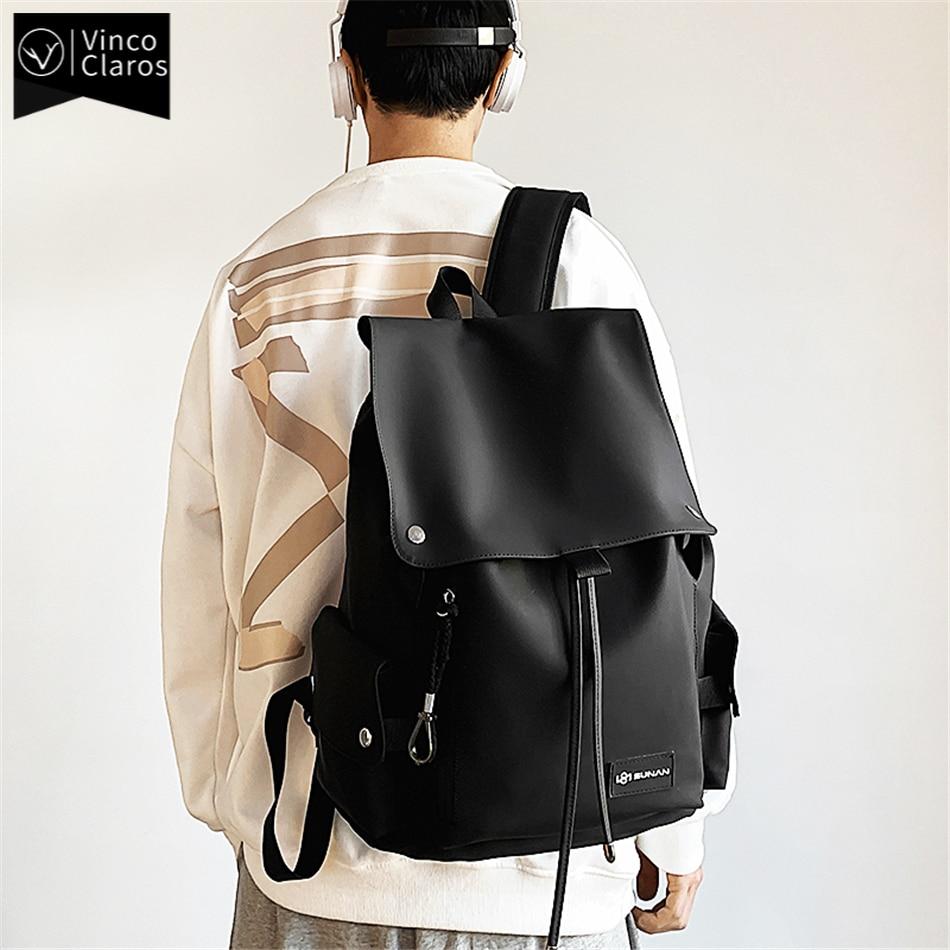 Simple Urban Man Backpack Trend Designer Backpacks for Men Waterproof Men's Laptop Bag Fashion Youth