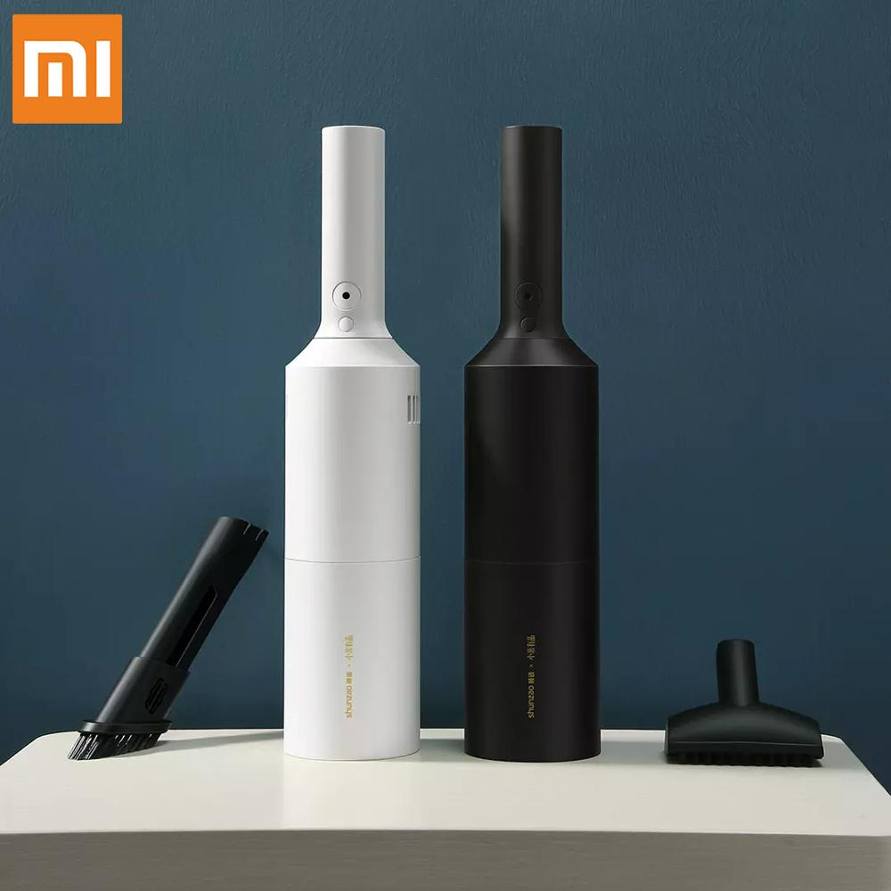 [해외] Xiaomi MIJIA SHUNZAO USB 휴대용 진공 청소기 무선 핸드 헬드 자동차/가정용 강력한 청소기 Z1/Z1 프로 미니 먼지 포수