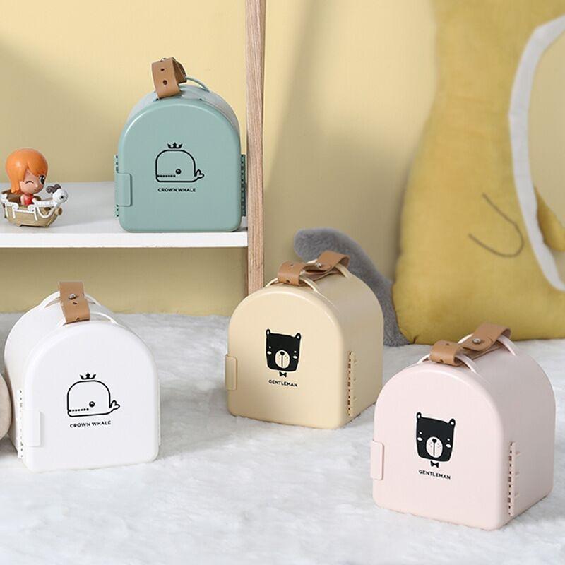 Купить с кэшбэком Original Toy Storage Box Home Portable Toy Storage Children Toy Snacks Sundries Organize Outdoor Toy Gift CE Standard Material