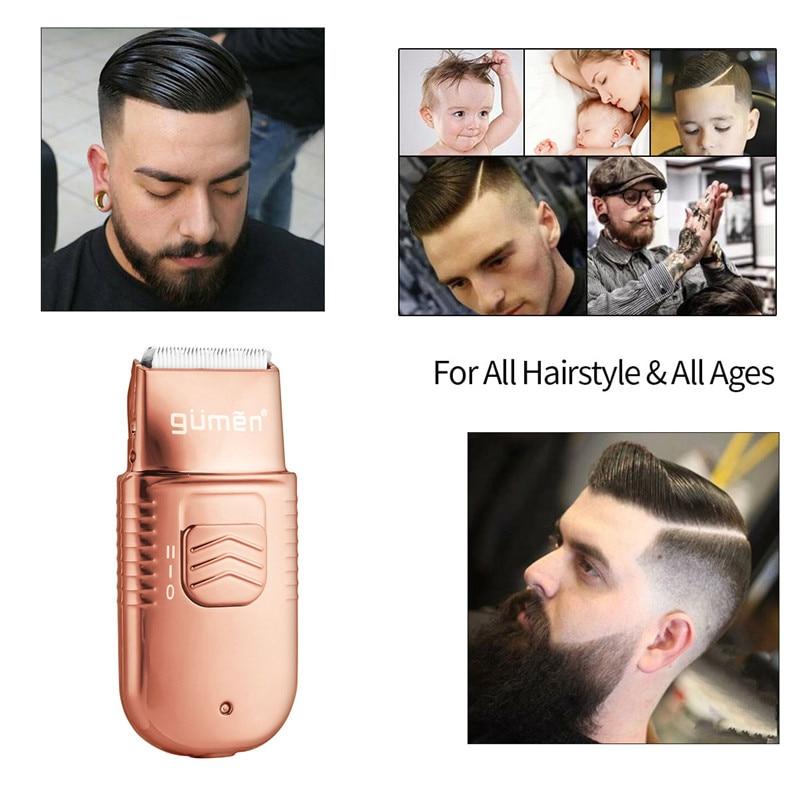 ALL Metal Barber Hair Clipper Professional Hair Trimmer for Men Electric Beard Cutter Hair Cutting Machine Hair Cut Cordles enlarge