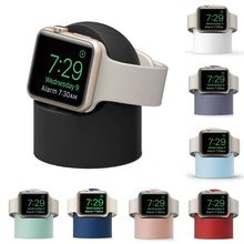 Charger Stand Mount Silicone Dock Holder for Apple Watch Series 4/3/2/1 44mm/42mm/40mm/38mm Charge C