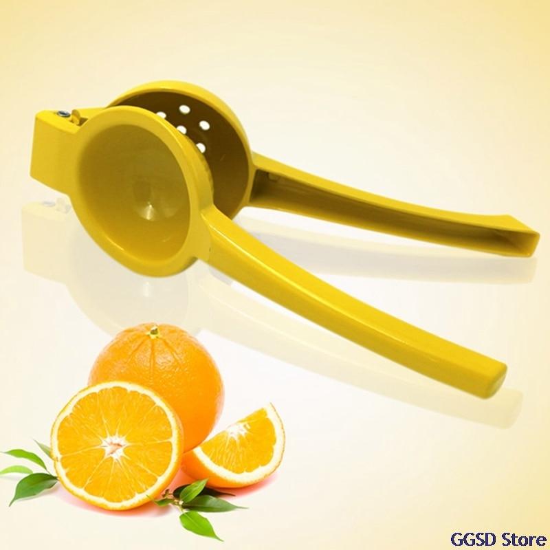 Фото - Ручная соковыжималка для лимона, соковыжималка для цитрусовых, Ручной пресс из алюминиевого сплава, соковыжималка для апельсинов и фруктов... пресс для цитрусовых лемон gefu пресс для цитрусовых лемон