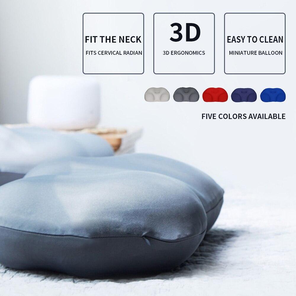 Creative Deep Sleep Addiction 3D Neck Pillow Washable Polyester Pillowcase Cover Travel Pillows Neck With Free Pillowcase