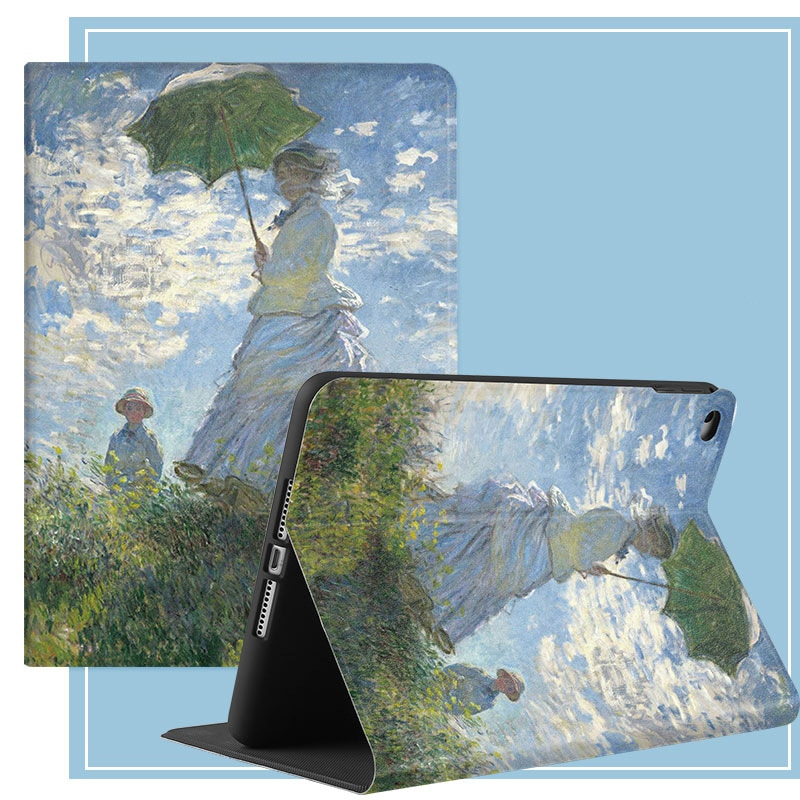 Ipad 2 3 4 Painting Art Leather Stand Case Air 2 3 Tablet Cover Protective For 2020 iPad Pro 11 10.2 10.5 7.9 9.7 inch Mini 4 5