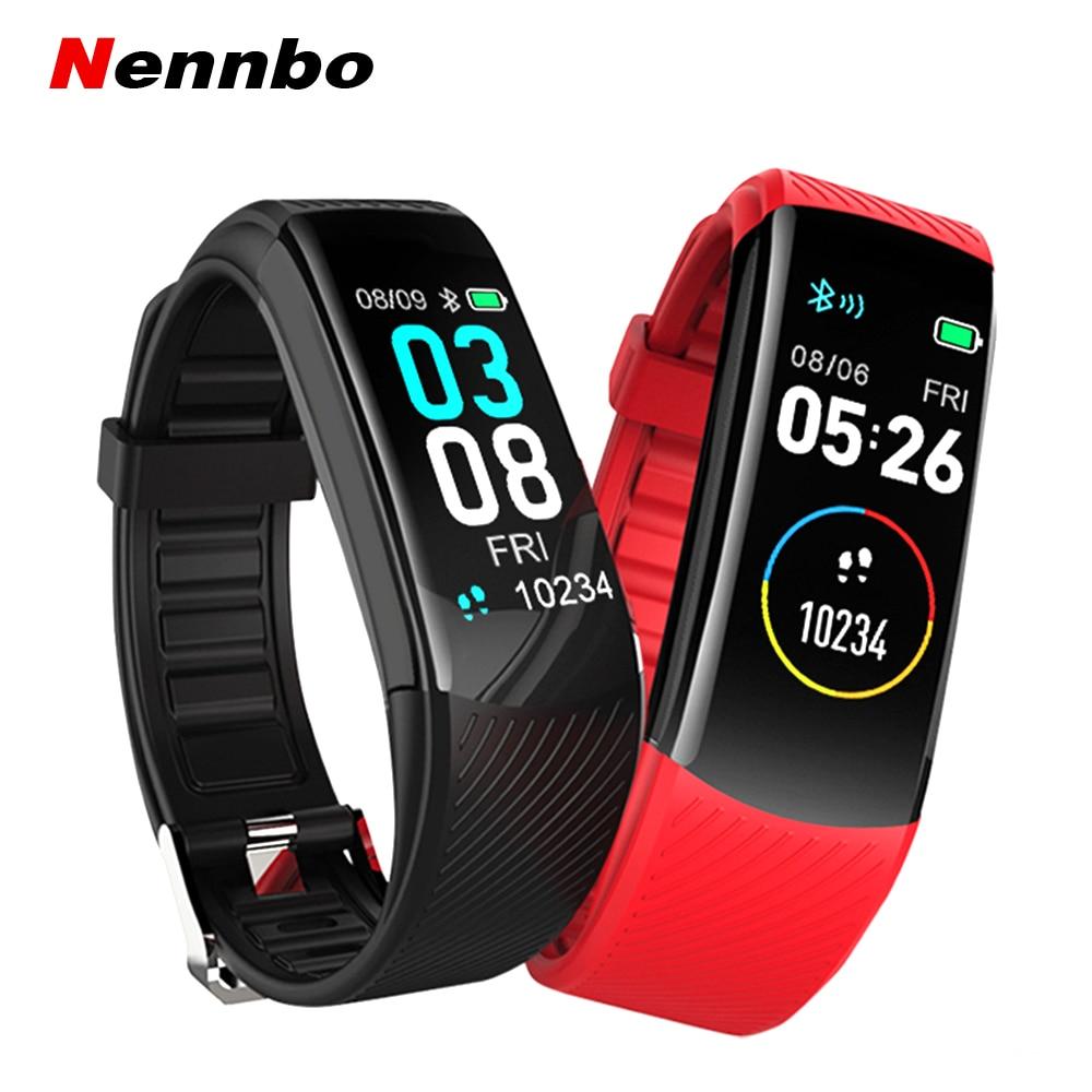C3 inteligente banda de medición de presión arterial podómetro Fitness rastreador reloj pulsera inteligente mujeres hombres impermeable para Android Ios
