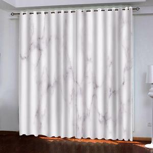 3D Window Curtain The Living Room Bedroom White Curtains European Luxury Curtains Drapes For Window