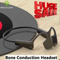 Огромная Распродажа, наушники с костной проводимостью, беспроводные Спортивные наушники Bluetooth 5,0, гарнитура IP56, стерео, Hands-Free с микрофоном