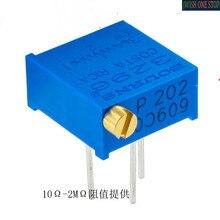 3296P-1-102LF Trimmer Potentiometer Adjustable Electrical Resistance