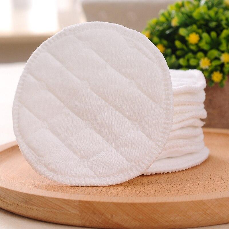 12 шт. 3 слоя Многоразовые грудные прокладки для кормящих Водонепроницаемый моющиеся