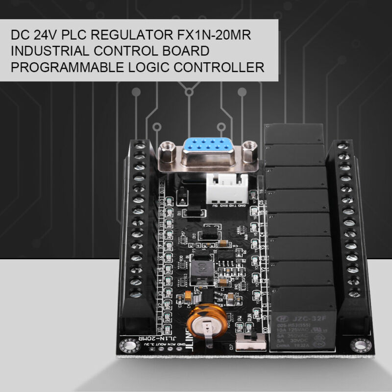 86x73x20mm FX1N-20MR regulador PLC placa Industrial controlador programable parte