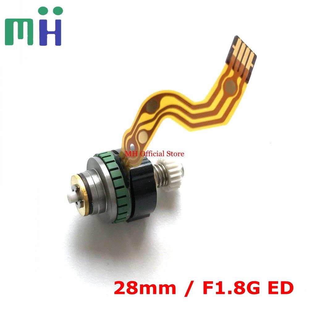 Segunda mano para Motor de enfoque automático NIKKOR 28 1,8 unidad AF enfoque SWM para Nikon 28mm 1,8G ED AF-S lente repuesto