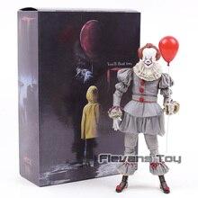 NECA Stephen King's bu Pennywise Joker palyaço PVC Action Figure oyuncak hediye