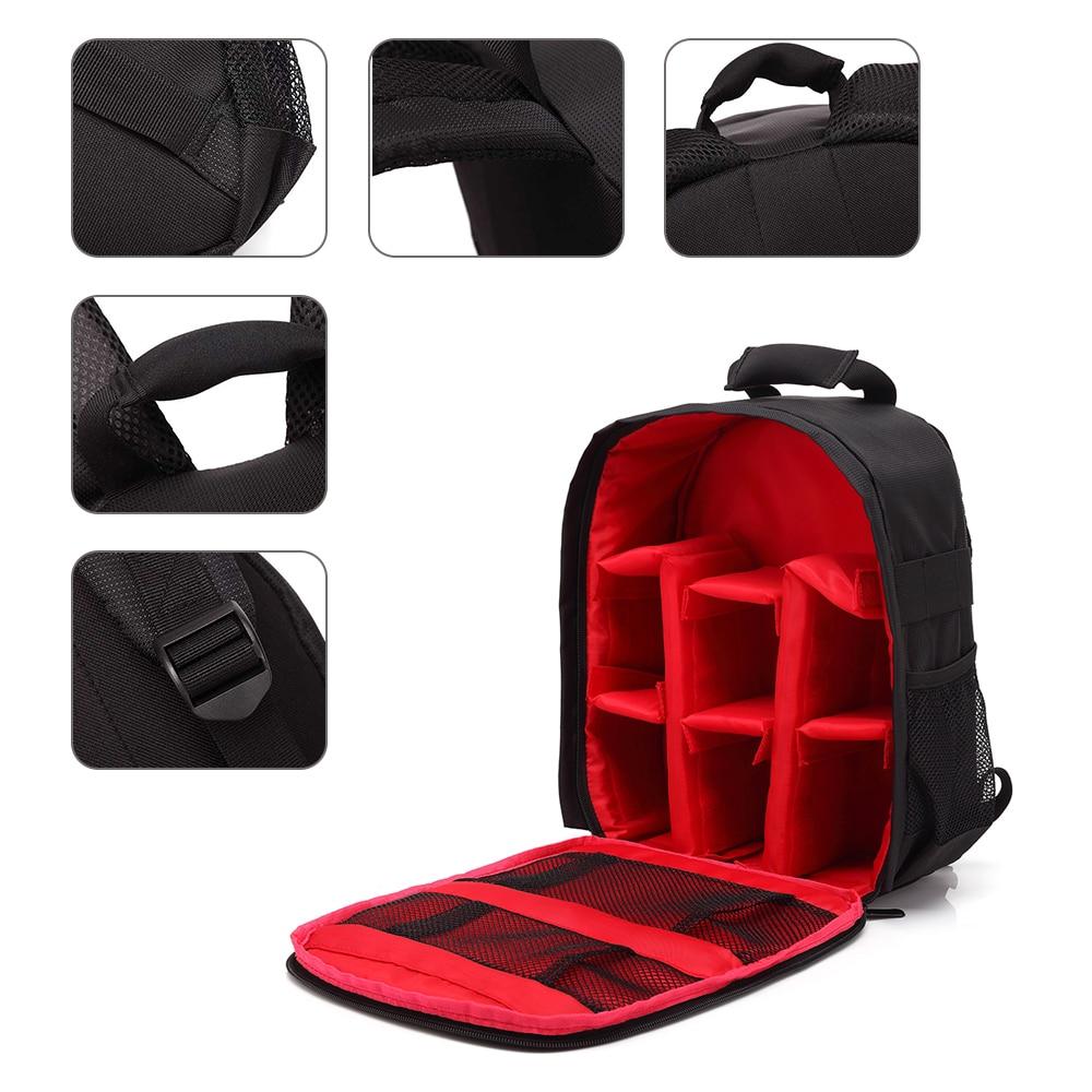 Dslr Camera Bag Photo Backpack for Canon Tough Waterproof Outdoor Camera Photo Bag Case for Nikon Digital Camera Accessories
