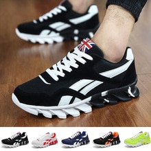 36-46 Fashion Men Shoes Light Breathable Shoes New Style Men Sneakers Men BreathableTrainers Light W