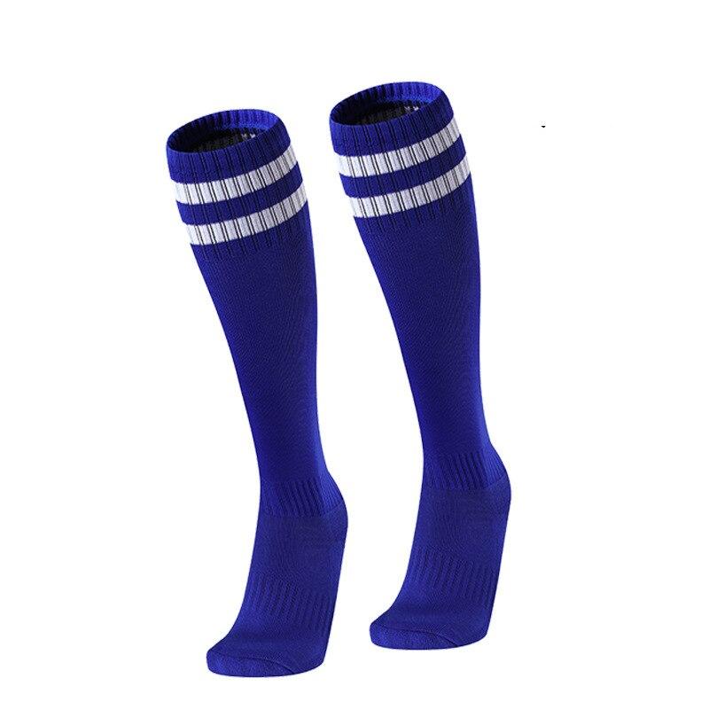 Meias de futebol infantil de alta qualidade algodão usar meias