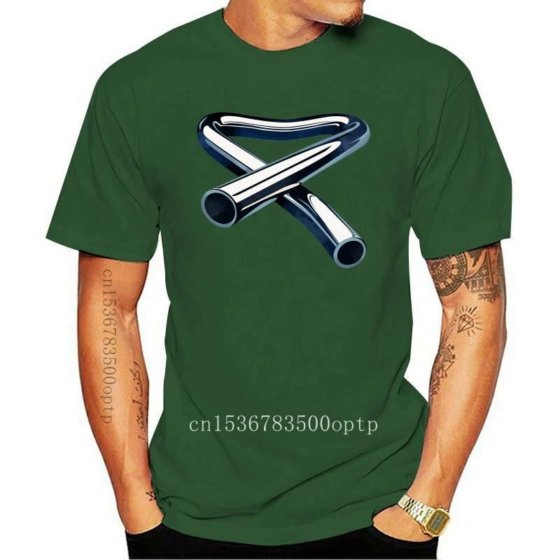 Camiseta de algodón clásico con estampado de Mike Oldfield, camisa con estampado...