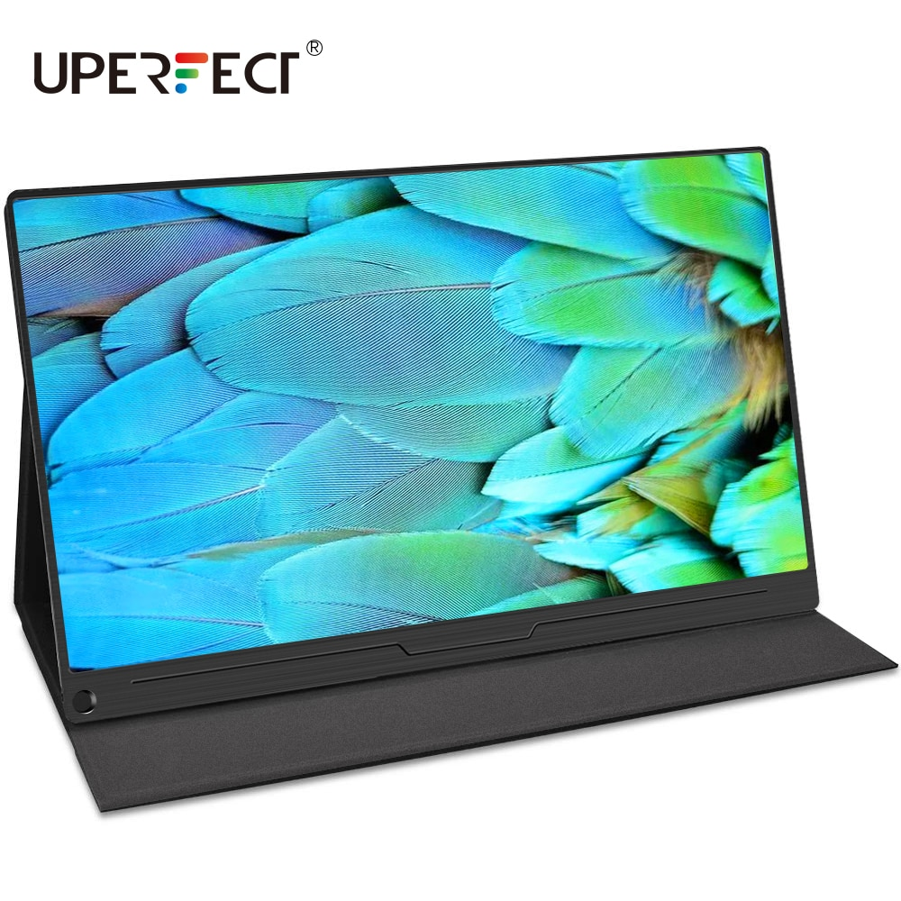 UPERFECT 15.6 4K USB TypeC IPS شاشة محمول مراقب ل Ps4 التبديل Xbox هواوي شاومي الهاتف الألعاب المحمول LCD عرض